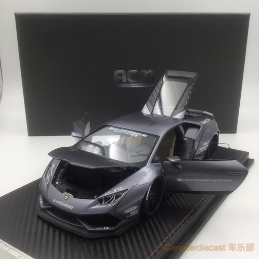 (ACM) Huracan LB Works Diecast Scale 1:18 (Iron Gray) Limited Edition 20pcs