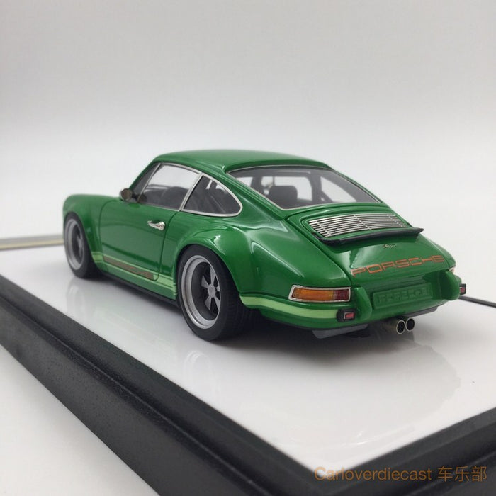 Makeup 1:43 Porsche Singer 911 (964) Signal Green (VM111F) resin car model