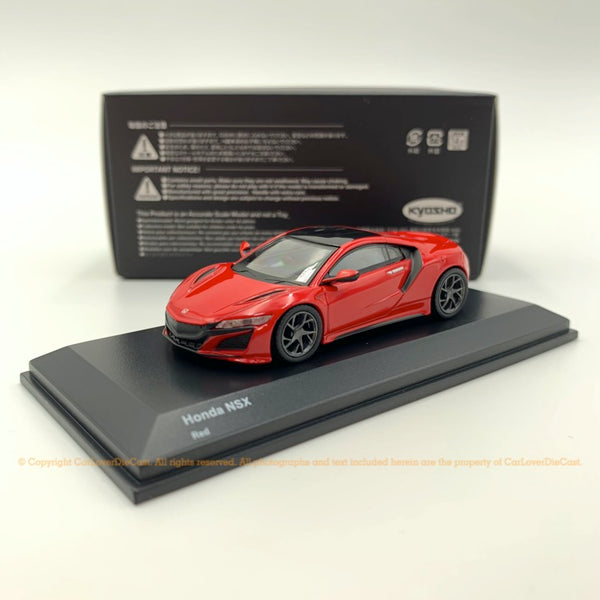 Kyosho 1:64 Honda NSX 2019 (red/Black) diecast car model available now