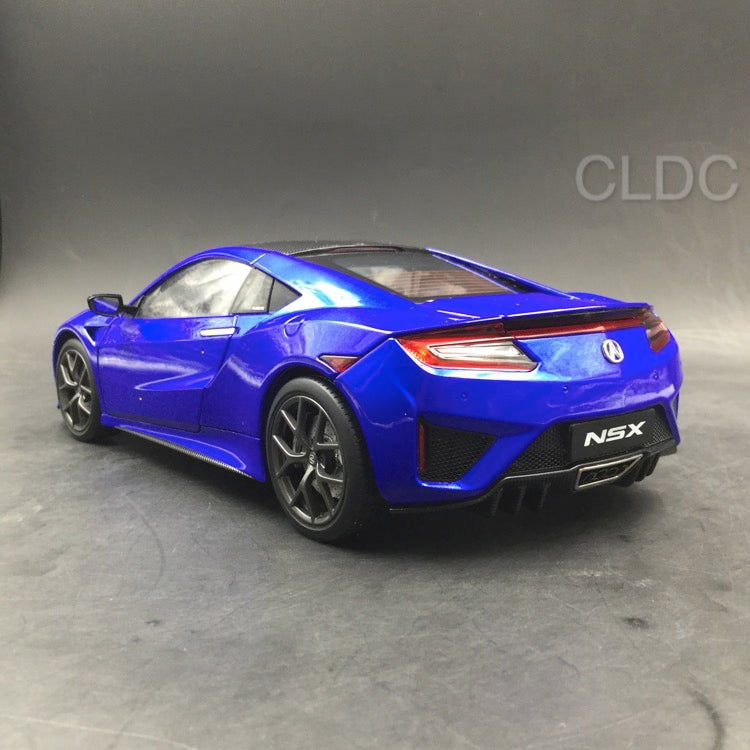 KengFai 1:18 Acura NSX diecast (LHD) Blue full open (KF000502) available now