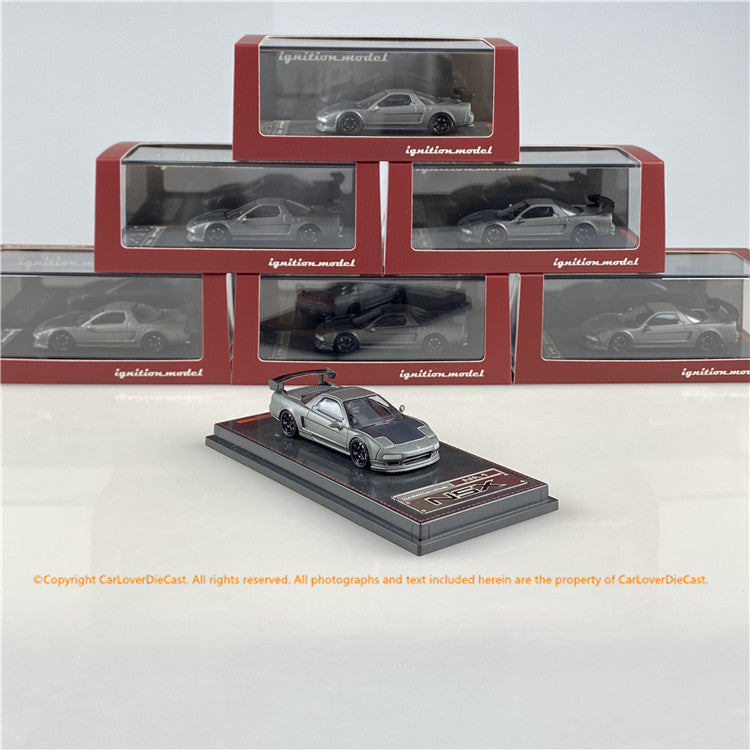 ignition model  1:64 Honda NSX (NA1) Titanium Gray IG1946 diecast car model