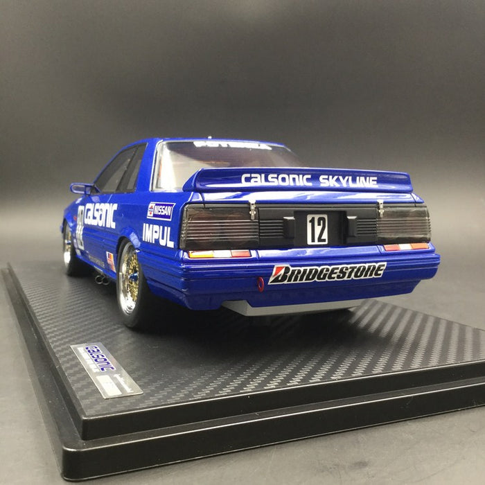 Ignition Model 1:18 CALSONIC Skyline (#12) 1989 JTC (IG1300) resin Model  available now