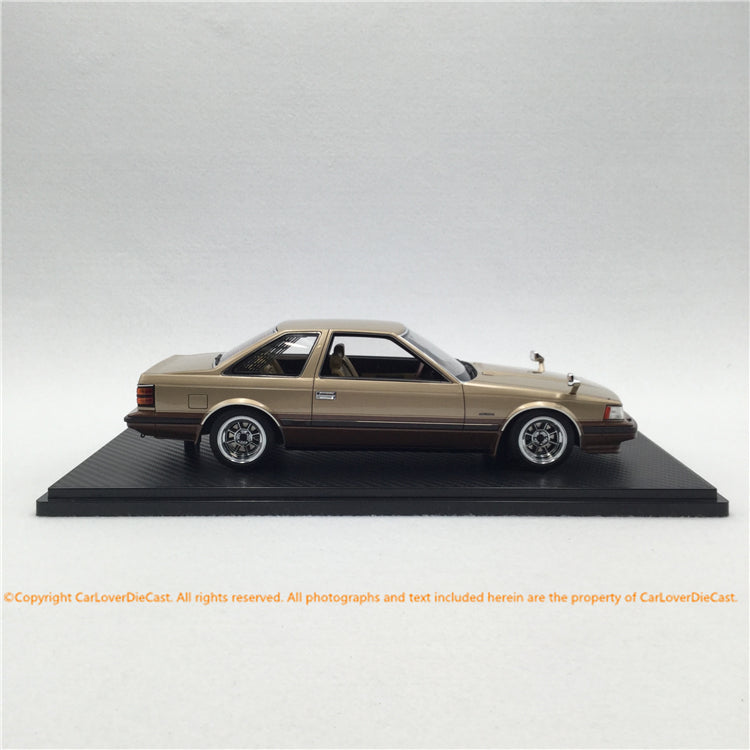 ignition Model 1:18 Toyota Soarer 2800GT Extra (Z10) Gold/Brown (IG1372) resin car model available now