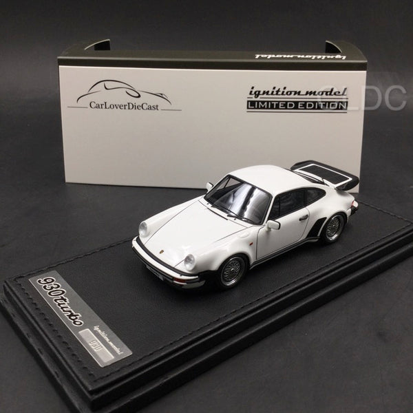 Ignition Model 1:43 Porsche 911 (930) Turbo  (white) with BBS Wheels (IG0936) CLDC exclusive (Except Japan) available  now