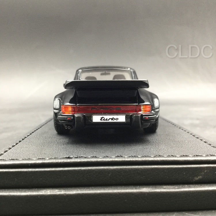 Ignition Model 1:43 Porsche 911 (930) Turbo  (Black) with BBS Wheels (IG0940) CLDC exclusive (Except Japan) available  now