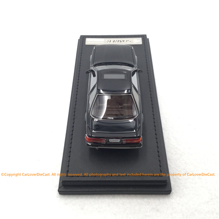 ignition Model 1:43 Toyota Soarer (Z20) 2.0GT-TWIN TURBO L   Black/Silver  ※BB-Wheel (IG1857) resin car model available now