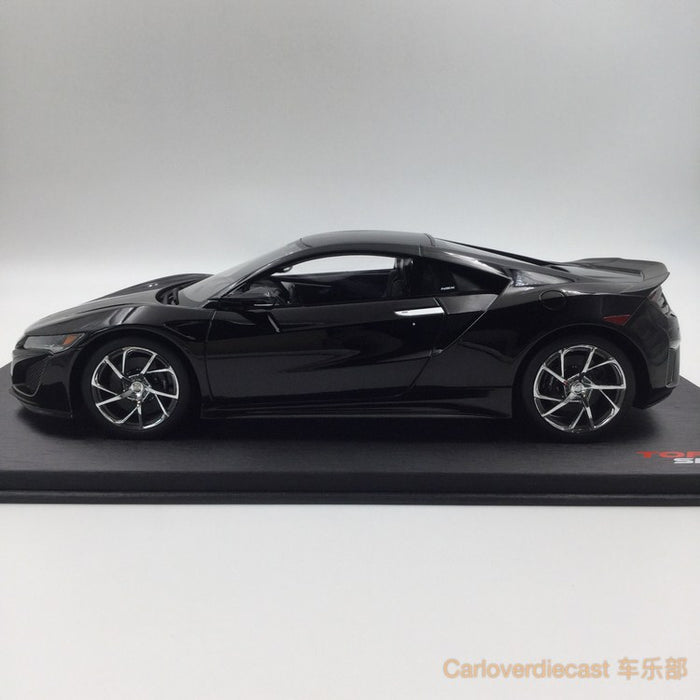 TopSpeed - Acura NSX (LHD) resin scale 1:18 in Berlina Black Limited 999pcs (TS0015) available now