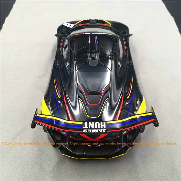 Almost Real 1:18 McLaren P1 GTR James Hunt 40th Anniversary Edition 2016 Diecast full open (840108) available now