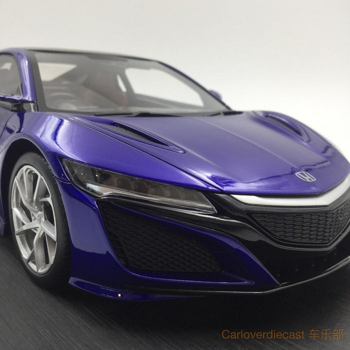 (TopSpeed) Honda NSX Nouvelle Blue Pearl (RHD) resin scale 1:18  limited 999pcs (TS0062) FREE Display Cover !