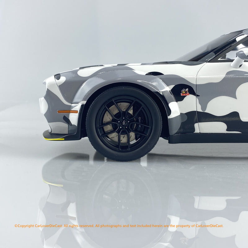 GT Spirit 1:18 Dodge Challenger R/T Scat Pack Widebody CAMOUFLAGE (GT831) CLDC Exclusive Edition available   now