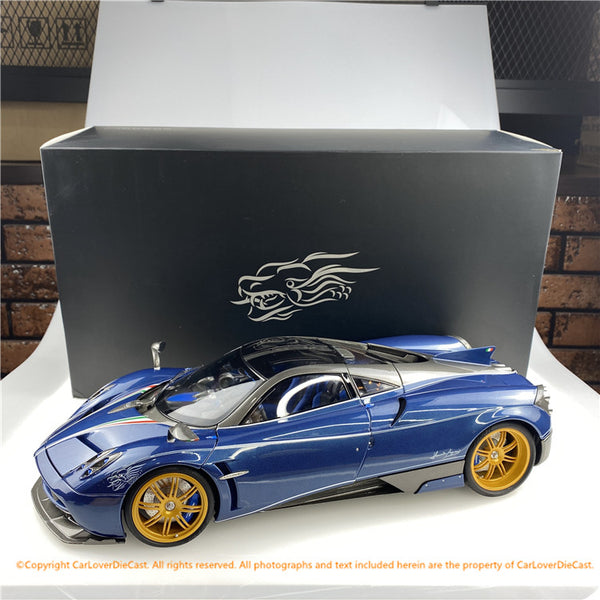 KengFai 1:12 Pagani Huayra Dinastia diecast full open (Blue) (KF004-1)available now
