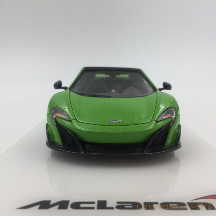 TSM - McLaren 675LT Spider 2016 (Mantis Green) Resin Scale 1:43 (TSM430203) available now