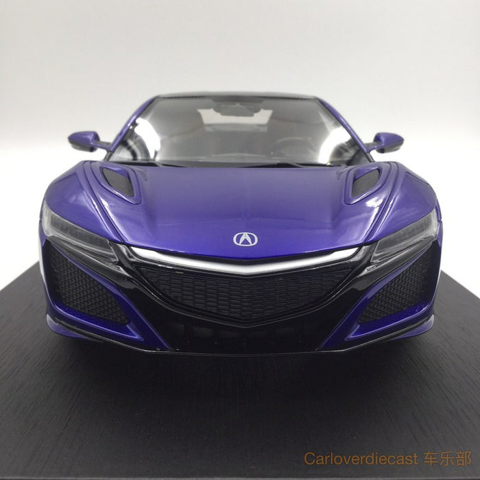(TopSpeed) Acura NSX Nouvelle Blue Pearl (LHD) limited 999pcs (TS0013) Free Display Cover !