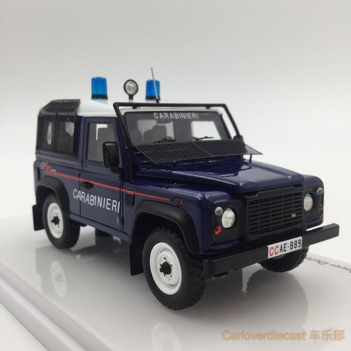 (TSM Model) Landrover Defender 90 Station Wagon Carabinieri resin scale 1:43 (TSM164326) available now