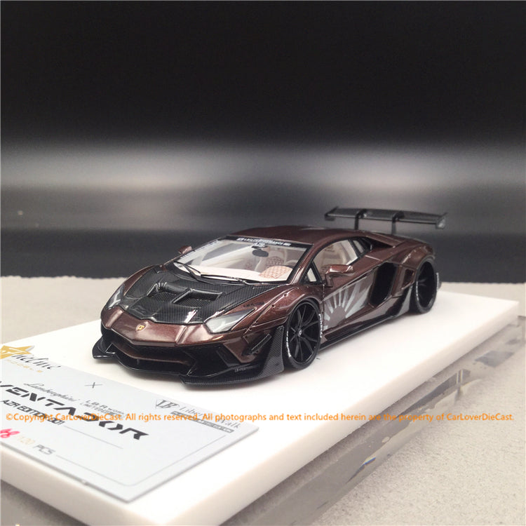 Fuelme 1:43 LB Works Aventador 50th Limited edition (AZR edition) resin car model (FM43007-50LE-JN07) available  now