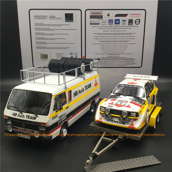 OttO Mobile 1:18 Rally Set Portugal Audi Team (OT276) 3 in 1 sets available now