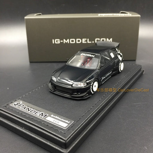 (Ignition Mode) Pandem Civic (EG6) Black (RB-Wheel) resin scale 1:43 IG1177