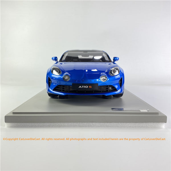 GT Spirit 1:8 ALPINE A110 S   (GTS80055) Bleu Alpine  resin car model