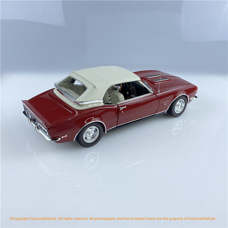 ACME 1:18 1968 Chevrolet Camaro Convertible- Unicon (A1805718) Diecast car model