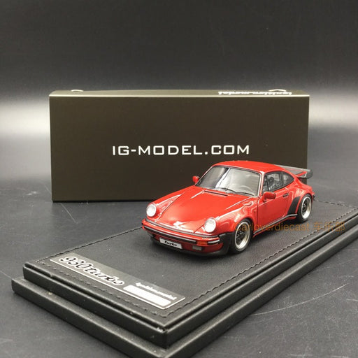 Ignition Model 1:43 Porsche 911 (930) Turbo resin model (IG0937) Red