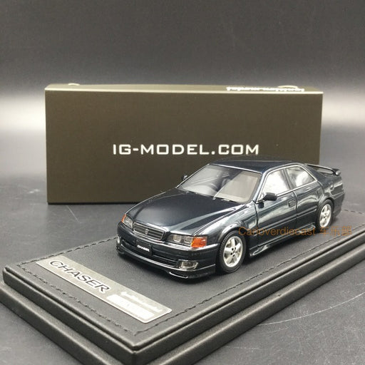 Ignition Model Toyota Chaser Tourer V (JZX100) resin scale 1:43  (IG1233)  Dark Green Mica