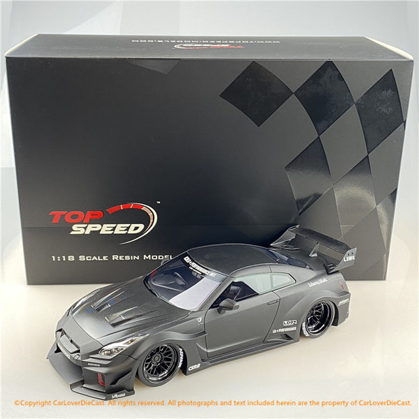 Topspeed 1:18 LB-Silhouette WORKS GT NISSAN 35GT-RR Matte Black (TS0299) CLDC Exclusive Edition available now
