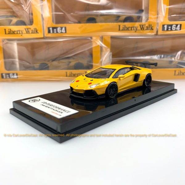 JEC 1:64 LBWK LP700-4 Cartoon Pattern (J64-002-PK)Diecast Car Model  available now