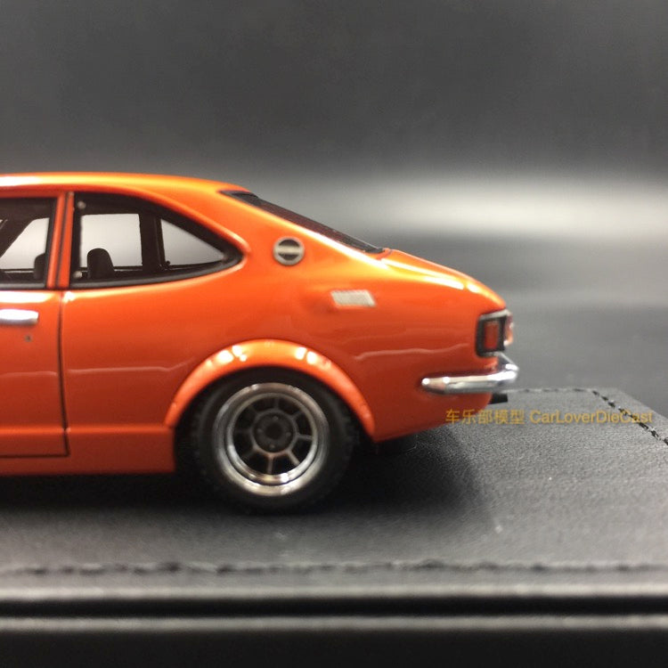 Ignition Model Toyota Sprinter Trueno (TE27) Orange(H-Wheel) resin scale 1:43  (IG0737) available  now