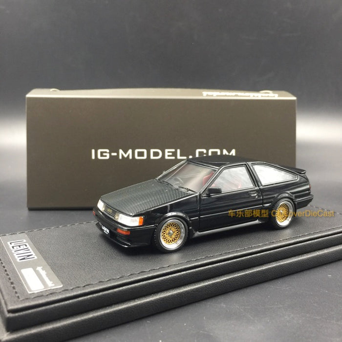 Ignition Model Toyota Corolla Levin (AE86) 3-Door GT Apex resin scale 1:43  (IG0475) available now