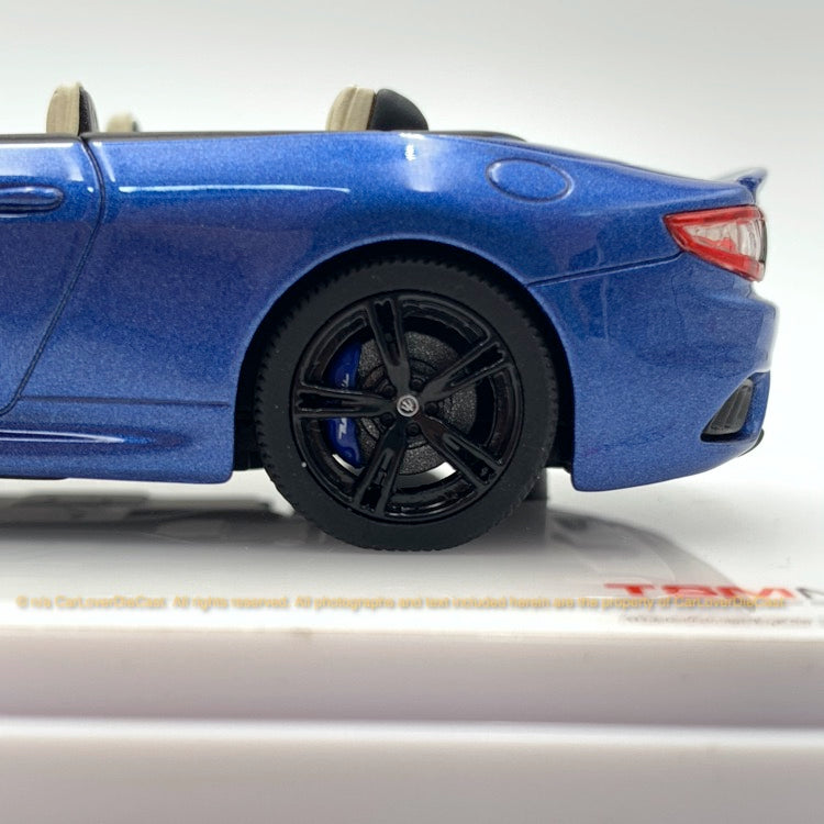 TSM 1:43 Maserati GranCabrio  Blu Sofisticato (TSM430459) resin car model available now