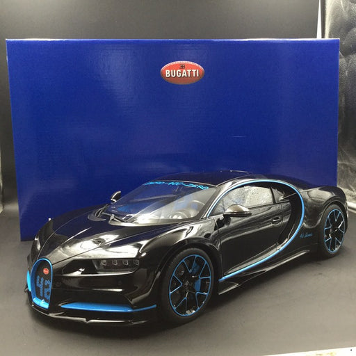 Kyosho 1:12 Bugatti Chiron 42 Black (KSR08664BK-B) limited 350 units resin car model available now