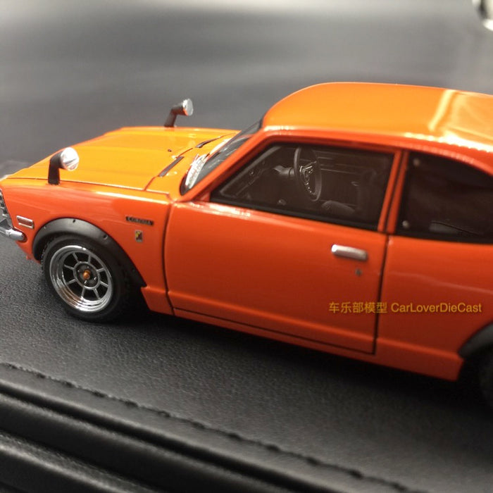 Ignition Model - Toyota Corolla Levin (TE27) Resin Scale 1:43 Orange (IG0729) Available Now