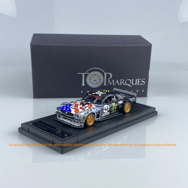 Top Marques 1:43 Honnigan star & stripes (TM43-003B)  resin car model available now
