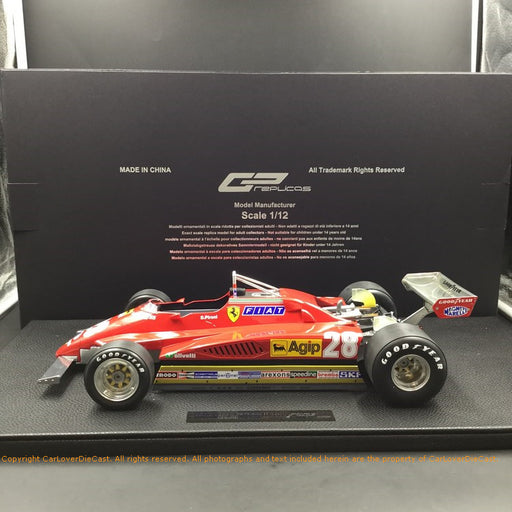 GP Replicas - 126 C2 1980 #28 GP12-10B  1:12 resin model (GP12-10B) available now