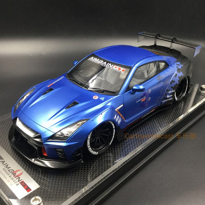 Aimgain - Nissan GTR 35 resin scale metallic blue special edition limited 20 pcs available now