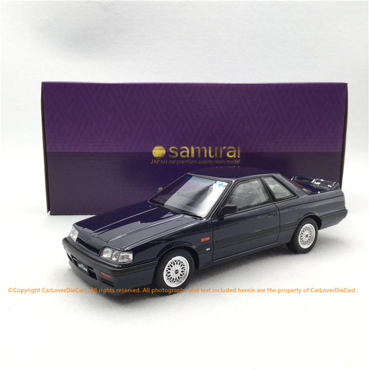 Kyosho Samurai 1:18 Nissan Skyline GTS-R in Blue (KSR18039BL-B) limited 700 pcs resin car model available now