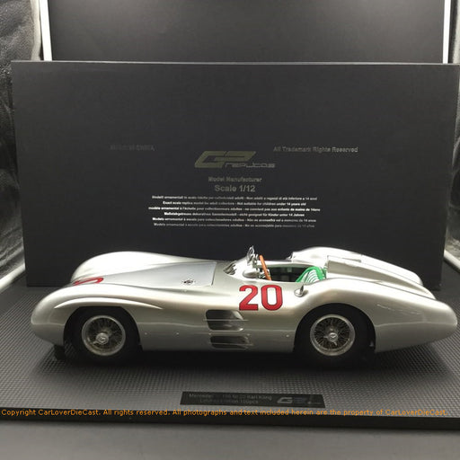GP Replicas 1:12 Mercedes W 196 Stramliner #20 (GP12-07B) resin car model