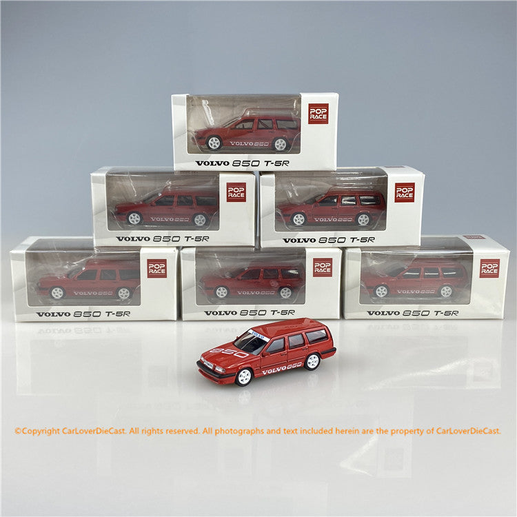 POPRACE 1/64 Volvo 850 Estate Touring Car Prototype (PR64-850-PROT) diecast car model available now