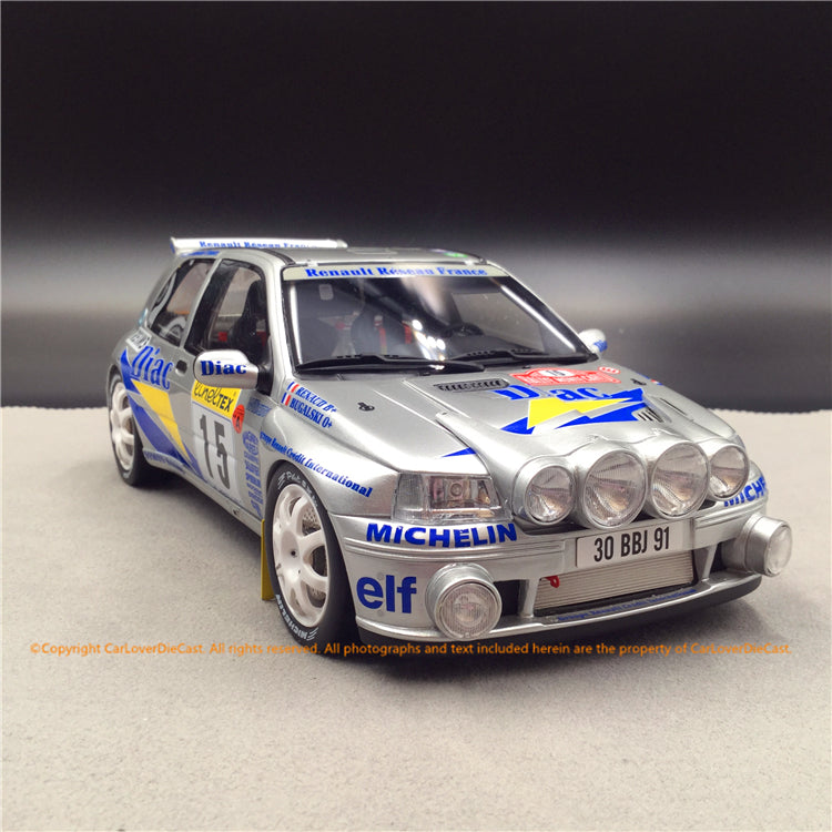 OttO Mobile 1:18 Pack Rallye Monte Carlo Clio Maxi  (OT289B) 3 in 1 sets available now