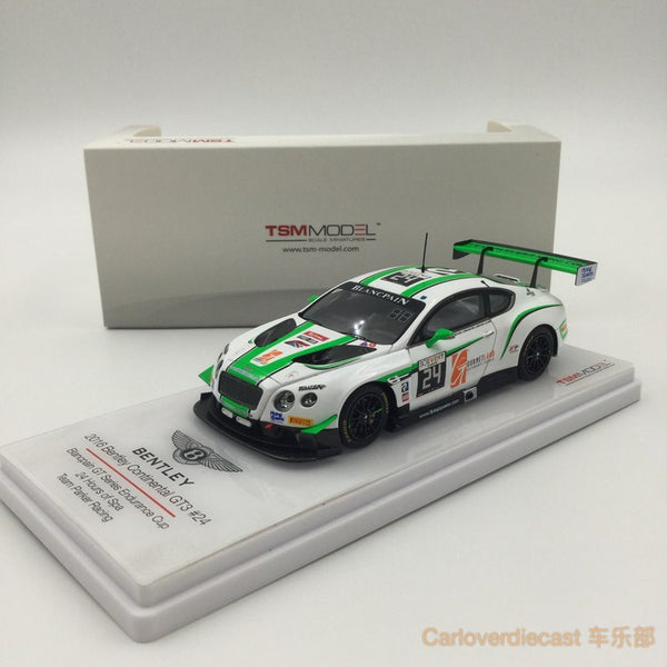 TSM-Model Bentley Continental GT3 #24 Team Parker 24 Hours of Spa 2016 Scale 1:43  (TSM430178)  available now