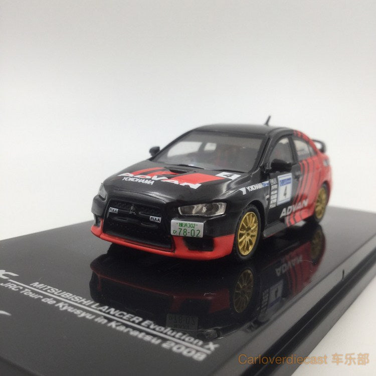 Tarmac works 1:64 diecast Mitsubishi EVO X - Advan racing available no – carloverdiecast