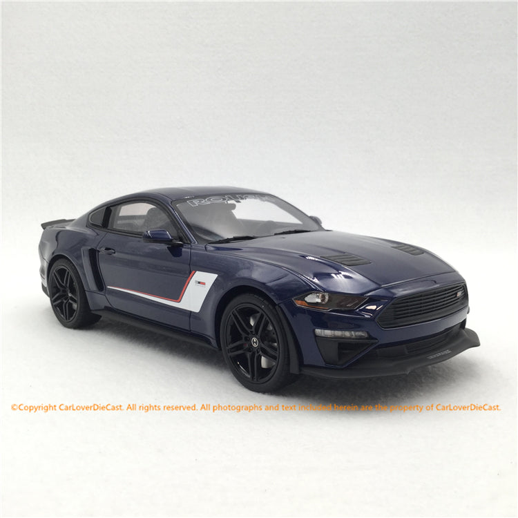 GT Spirit 1:18 Ford Roush Stage Mustang 2019 resin car model (US020) ACME edition available Now