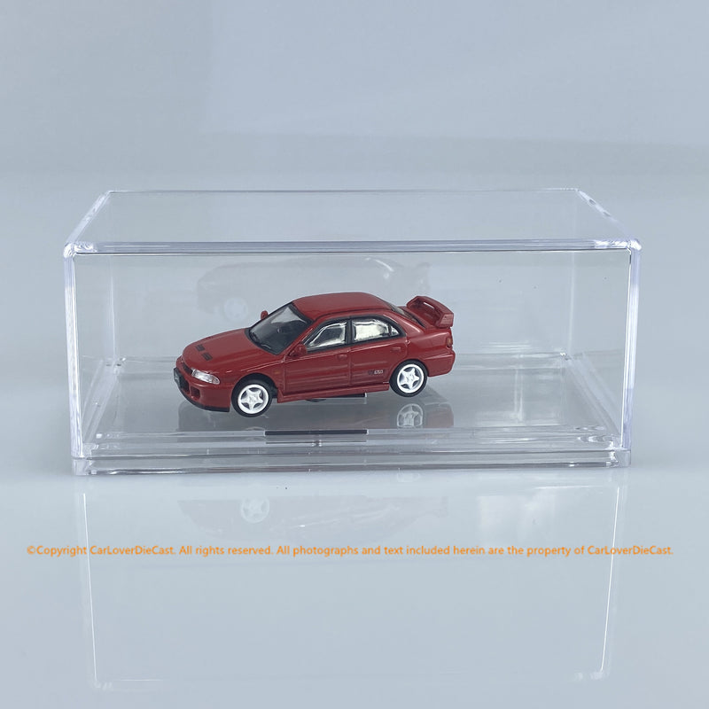 BM Creations 1:64 Mitsubishi Lancer Evolution II (3 colors option)(64B0062-0067) diecast car model available NOW