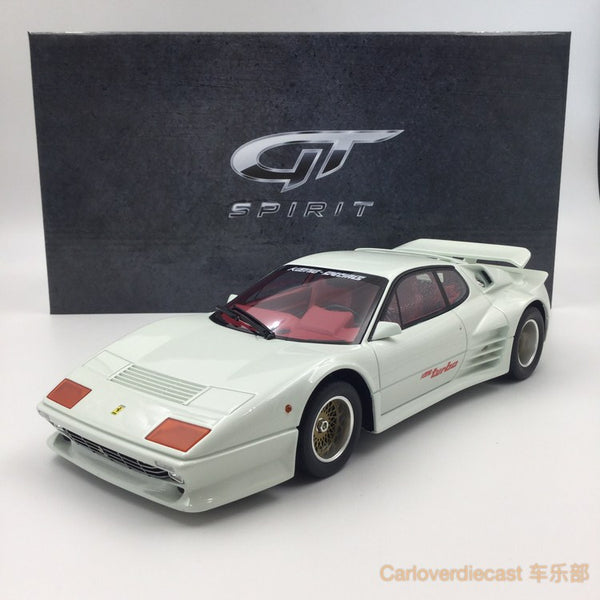 (GT Spirit) KOENIG  512 BB TURBO Resin Scale 1/18 Limited 504 pcs (KJ017) Exclusive by Carloverdiecast available  now