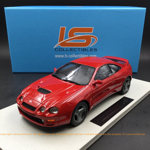 LS Collectibles 1:18 Toyota Celica ST 205 (Red) LS031B resin car model