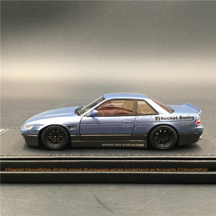 Ignition Model 1:43 Rocket Bunny S13 V1 Silver/Gray resin model (IG1183) available  now