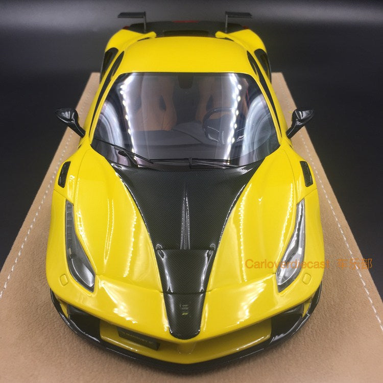 JUC Model - Siracusa 4XX resin scale 1:18 (yellow without number) (JUC32-002Y)limited 40 pcs available now