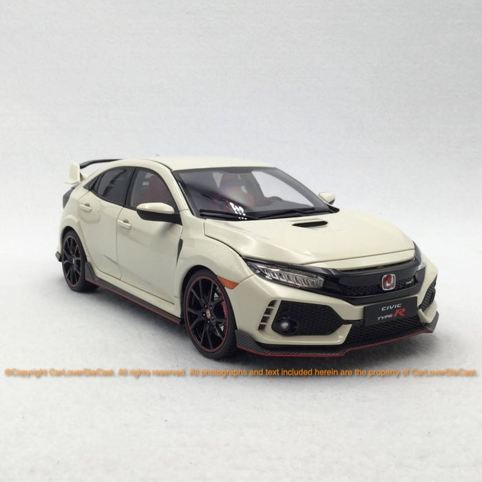 LCD 1:18 Honda Civic FK8 (white) diecast full open car model available now LCD18005WH