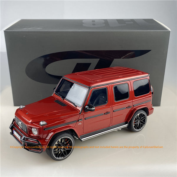 GT Spirit 1:18 Mercedes AMG G63 with new bumper RED Diecast car model CLDC010  Carloverdiecast exclusive series limited 504