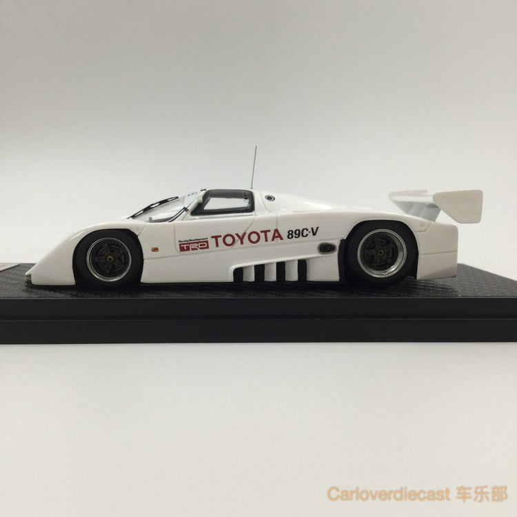 Ignition Model Toyota 89C-V 1989 Shakedown Test Resin Scale 1:43 IG1194